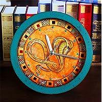 DIDADI Alarm clock Das alte Ägypten Indien Snake Eyes Wang alarm Kreative retro Holz Uhrzeit Continental idyllische... preisvergleich bei billige-tabletten.eu