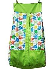 Kadambaby Diaper Stacker, Flowery, Green