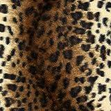 Fabulous Fabrics Tierfellimitat 17 — Meterware ab 0,5m — zum Nähen von Kissen und Tagesdecken, Karnevalsartikeln und Mänteln