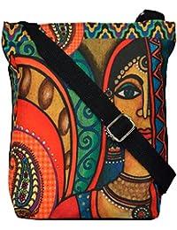All Things Sundar Womens Sling Bag / Cross Body Bag - S06 - 01