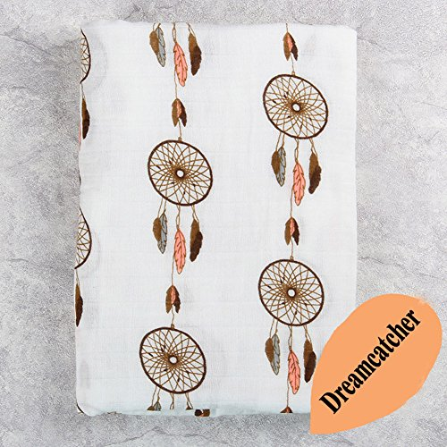 iEvolve 100% Baumwolle Pucktücher Strampelsack Pucktuch Musselintuch Ideal fürs Kinderbett CuddleBug 120x120cm