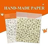 Hysung Origami Paper 80feuilles Doré Argenté 15cm*15cm Gold 40+Silver 40...