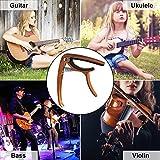 Kapodaster für Akustikgitarren mit Plektren von SMAtech - 6