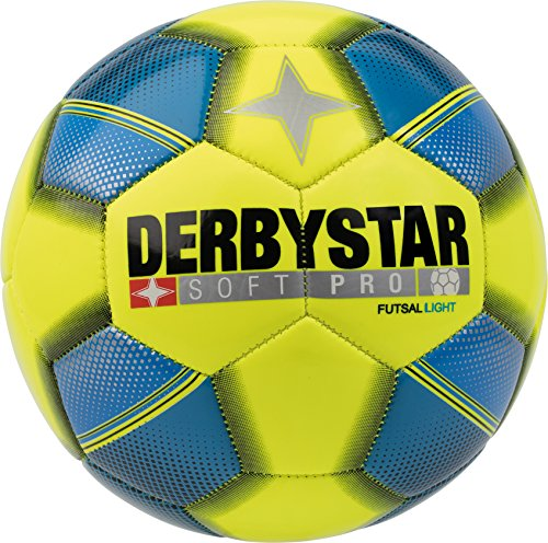 Derbystar Soft Pro Light Futsal, 4, gelb blau schwarz, 1092400566