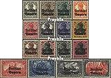 Prophila Collection Bayern 136-151 (kompl.Ausg.) mit Falz 1919 Germania mit Aufdruck (Briefmarken für Sammler)