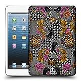 Head Case Designs Blumige Muster Und Tiger Gedruckte Patches Und Textilien Ruckseite Hülle für iPad Mini 1 / Mini 2 / Mini 3