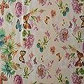 EHT Tischdecke Wachstuch Gartentischdecke Rund Eckig Oval in Verschiedenen Größen Meterware Wachstischdecke Schmetterlinge von EHT auf Gartenmöbel von Du und Dein Garten