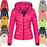 Marikoo Damen Jacke Steppjacke Übergangsjacke Winter gesteppt Kuala XS-XXL 16-Farben