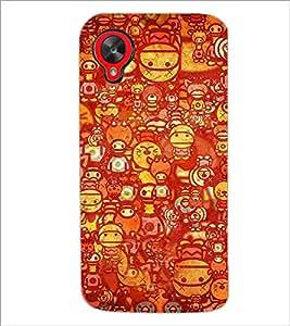 PrintDhaba Graffiti D-3460 Back Case Cover for LG GOOGLE NEXUS 5 (Multi-Coloured)