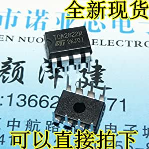 Generic 50PCS TDA2822 / SCS 12V TDA2822M DIP-8 New and original