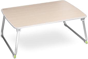 Salcar Laptoptisch Laptop Betttisch Faltbar Lapdesk Notebook Lese Tisch Stabiler Tragbarer Laptopst?nder f¡§1r Fr¡§1hst¡§1cks, Notebook, B¡§1cher, Minitable, Bett Tablett