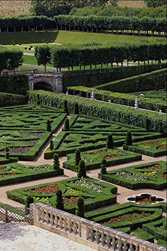 650012 Chateau De Villandry Loire Region France A4 Photo Poster Print 10x8 - Chateau Villandry