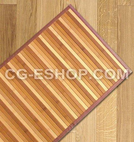 Bambus-Teppich, Farbverlauf Läufer Küche Eingang CM55X 280natur beige