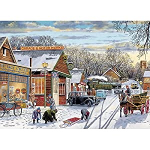 Gibsons Puzzle Village Crossing 1000 Piezas Jigsaw Puzzle