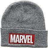 Marvel Herren Strickmütze Beanie Hat RFMBH447, Grau (Grey), Einheitsgröße