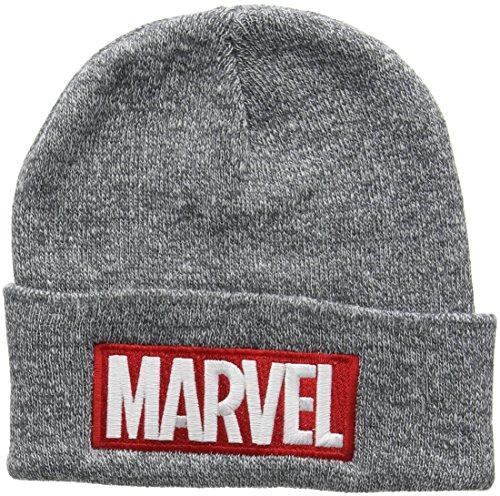 mütze Beanie Hat RFMBH447, Grau (Grey), Einheitsgröße (Marvel Hats)