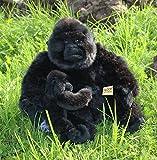 Gorilla mit Baby Affe Menschenaffe 29 cm Plüschtier 16 von Zaloop