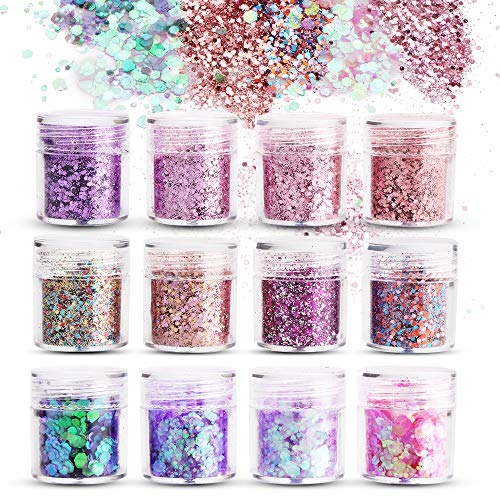 Purpurinas Polvo,Sporgo Chunky Glitter Flakes Paillette