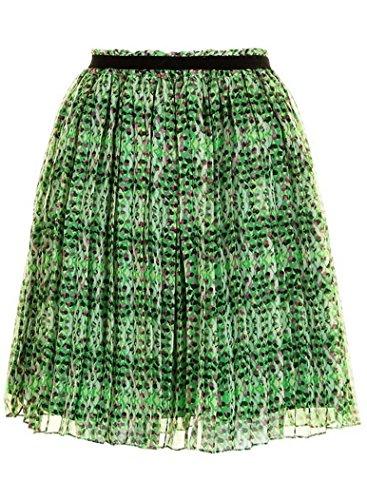Darling Rock leichter luftiger Sommerrock Chiffon Tori Skirt Grün