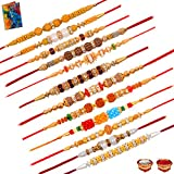 Earnam Creative Dora Rakhi Set Of 12 Rakhi With Rakhi Gift Greeting Card Roli Chawal For Brother(Men)