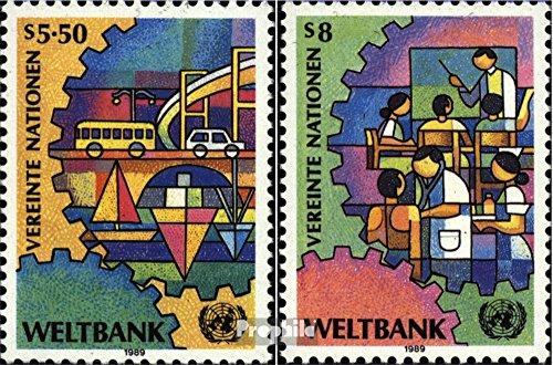 UNO - Wien 89-90 (kompl.Ausg.) 1989 Weltbank (Briefmarken für Sammler)