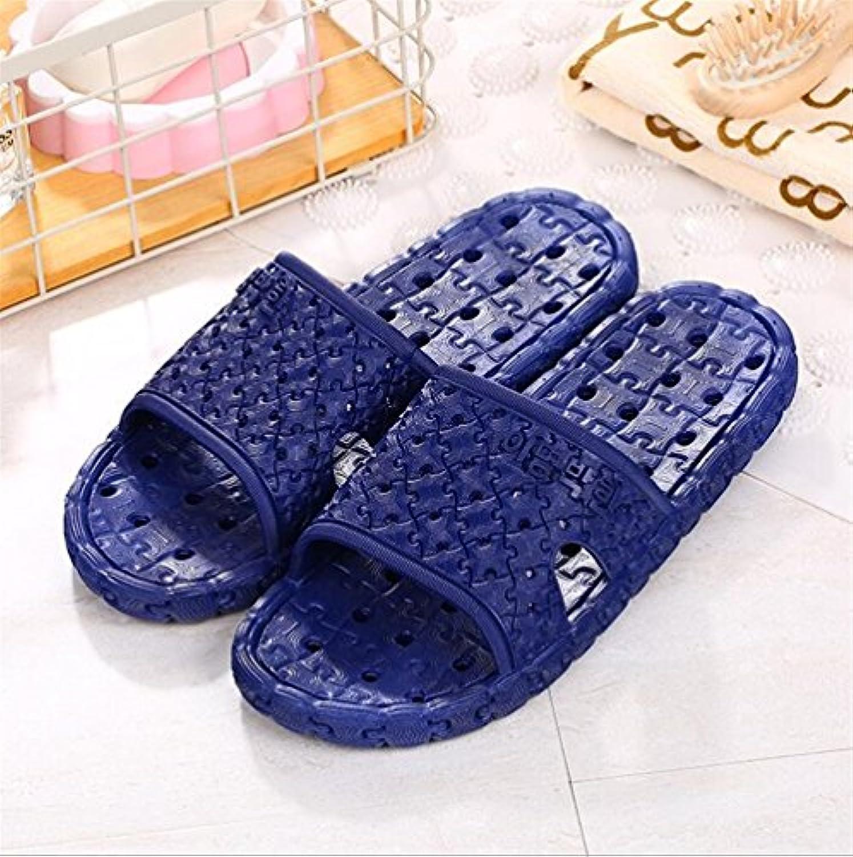 Andensoner Estupendo Zapatillas de Pareja de Verano Zapatillas de Suela Gruesa Puzzle Forma Pareja Baño Zapatillas...