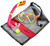 Aqua Lung Sport La Costa Junior Pro Dive Kinder 2er Set (Tauchmaske & Schnorchel) inkl. Beutel - Yellow