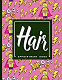 Hair Appointment Book: 7 Columns Appointment Calendar, Appointment Schedule Book, Daily Appointment Schedule, Cute Super Hero Cover