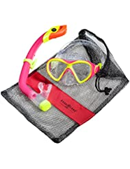 Aqua Lung Sport La Costa Junior Pro Dive Kinder 2er Set (Tauchmaske & Schnorchel) inkl. Beutel