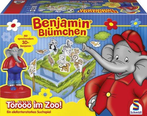 Preisvergleich Produktbild Schmidt Spiele 40514 - Benjamin Blümchen, Törööö im Zoo