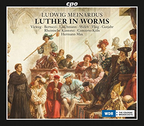 Luther in Worms, Op. 36, Act II