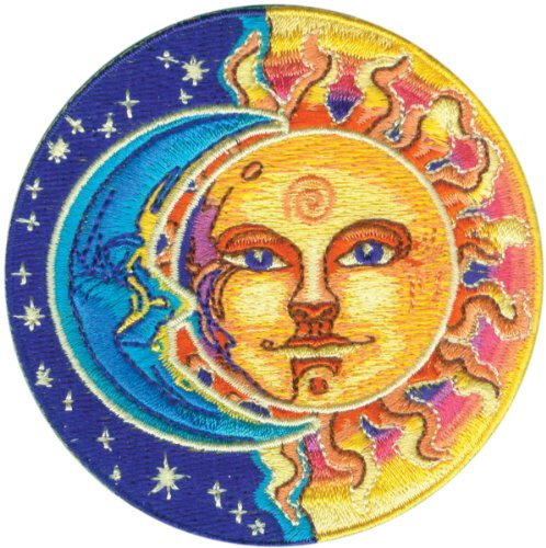 C&D Visionary Patch-Moon & Sun (Betsy Ross Hat)