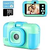 Digitalkamera Kinder,TekHome Kinderkamera ab 3 4 5 6 Jahre,Spielzeug ab 7-10 Jahre Jungen,Weihnachten Geburtstag Geschenke fü