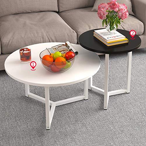 Beistelltisch, Schlichte Mini Moderne Hause Kleiner couchtisch, kreativer beiläufiger Kleiner Tisch (Zwei sätze) (Farbe : B) (Satz Von Drei Couchtische)