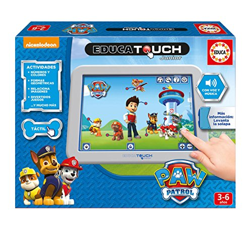 Paw Patrol Touch, juguete educativo (Educa Borrás 17431)