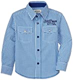 Blue Giraffe Boys' Shirt (SS15/BA/19_Blu...