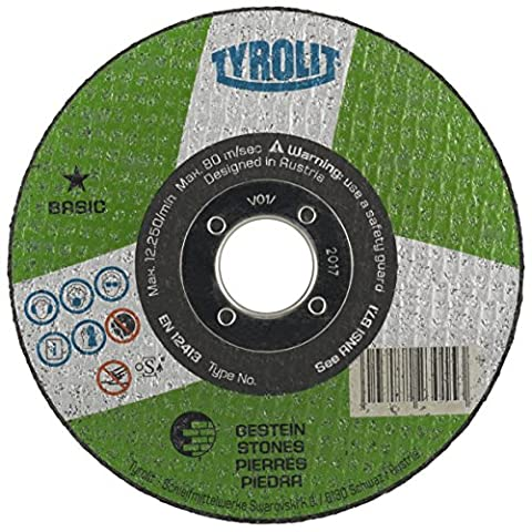 Tyrolit 42Cutting Blade Offset, Fabric, Dimensions 22.23for Pack of 25, 1Piece, 223027