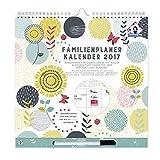 Organised Mum Familienplaner Kalender 2017 . Wochenkalender mit Spalten für