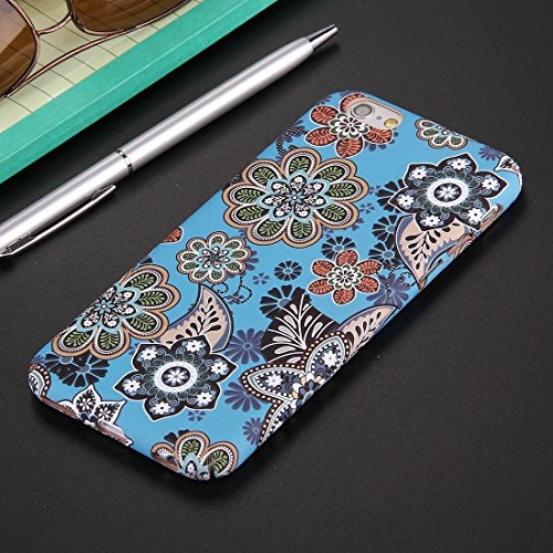 Phone case & Hülle Für iPhone 6 Plus / 6s Plus, National Style Blumenmuster PC Schutzhülle ( SKU : IP6P1068B ) IP6P1068A