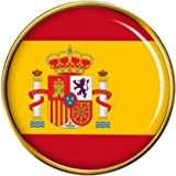 """""""Bandera Española"""" Redondo Pin de Solapa"""