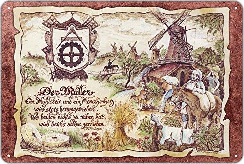 Geschenk Müller Blechschild 30 x 20 cm