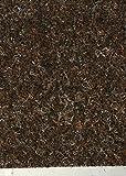 Nadelfilz-Teppich in der Farbe dunkel-braun | Nadelvlies-Auslegeware in der Breite 2m x Länge 6,0m | Filz-Bodenbelag als Meterware erhältlich | robust & rutschfest, Beanspruchungsklasse (BK33)