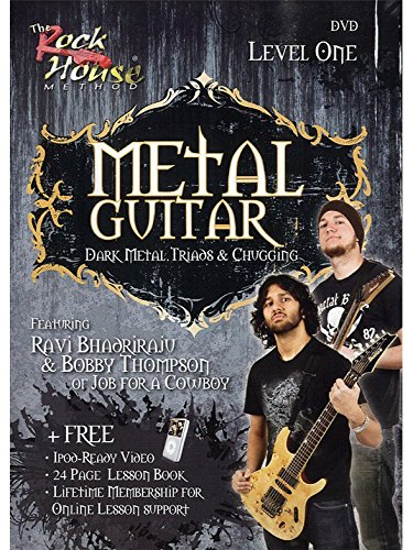 The Rock House Method: Metal Guitar Level One (DVD). Für Gitarre (Guitar House Metal Rock)