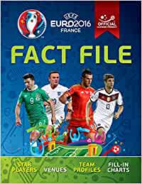 UEFA EURO 2016 Fact File – Official licensed product of UEFA