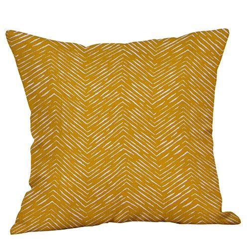 ➤Refill➤Kissenbezüge 45x45 cm aus Mikrofaser Kissenhüllen Weich mit Geometrischen Mustern Dekokissenbezüge für Sofa AutoTerrasse Zierkissenbezüge Throw Kissen Cover Home Decor