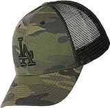 47Brand Camo Branson MVP Trucker Cap LA Dodgers CBRAN12GWP-CM Camouflage, Size:ONE Size
