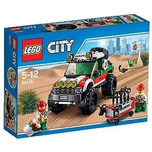 LEGO City Veicoli 60115 - Fuoristrada 4 X 4 5702015594066 LEGO