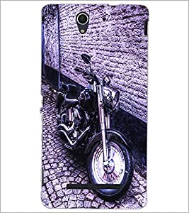 PrintDhaba Bike D-2839 Back Case Cover for SONY XPERIA C3 (Multi-Coloured)