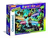 Clementoni 24455–Maxi Puzzle Ninja Turtles, 24Stück