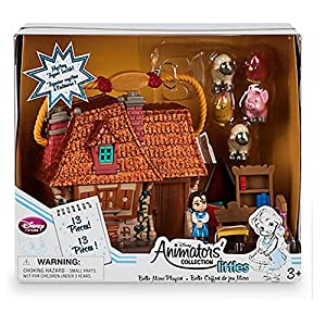 Official Disney Beauty & The Beast Belle Animators Collection Micro Playset